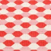 Pappelina Dana Coral Red & Piglet Mat - Detail
