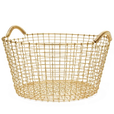 Korbo Classic 35 Basket - Solid Brass