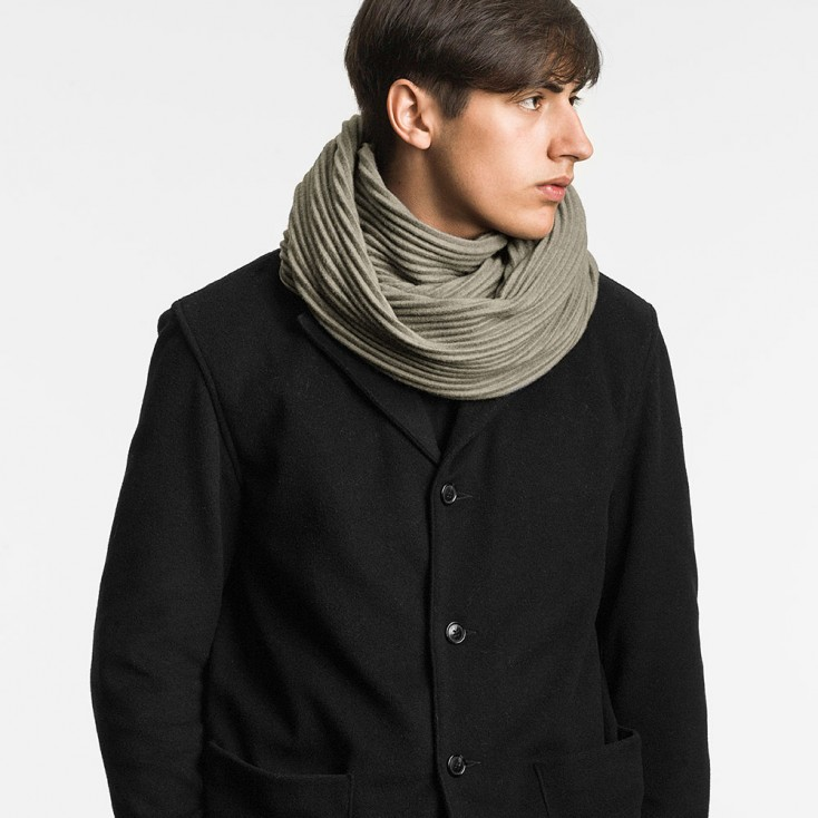 Design House Stockholm Army Green Pleece Snood