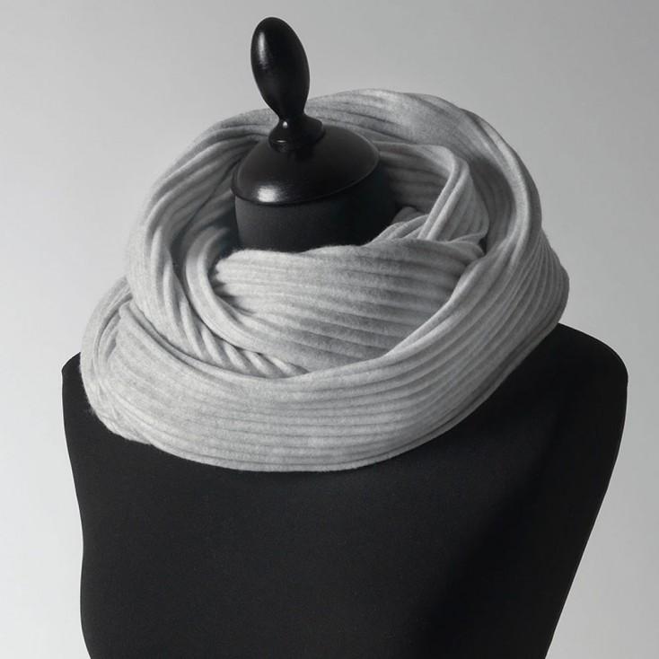Design House Stockholm Silver Grey Pleece Snood