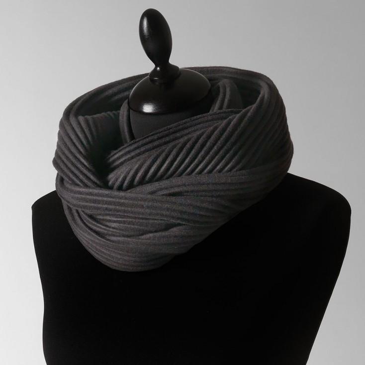 Design House Stockholm Black Pleece Snood