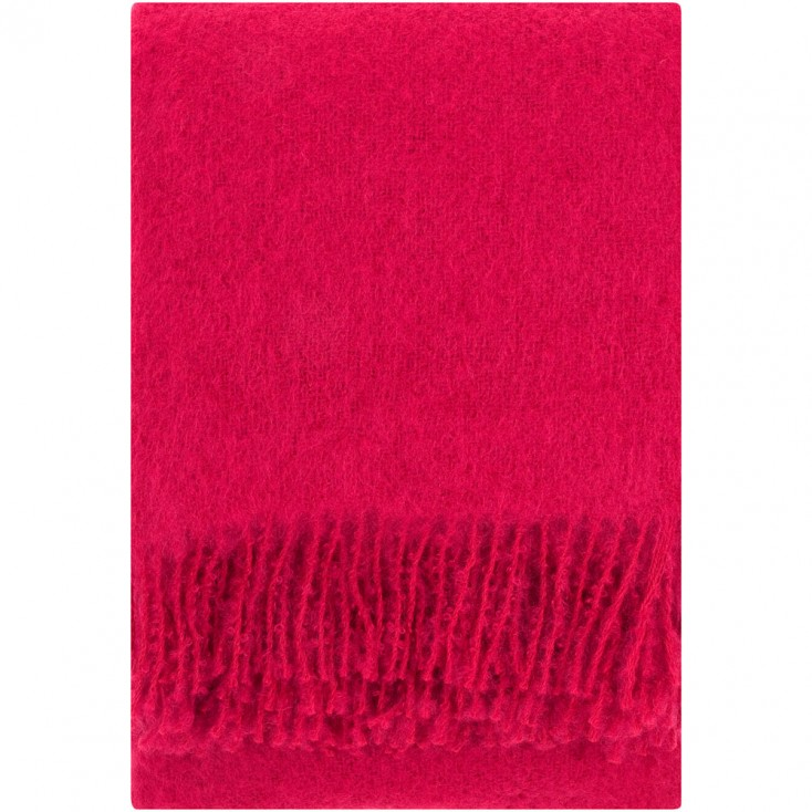Lapuan Kankurit Red Saaga Uni Mohair Blanket