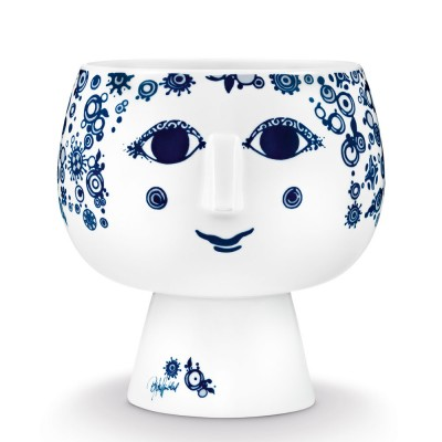 Bjorn Wiinblad Juliane Flowerpot - Blue