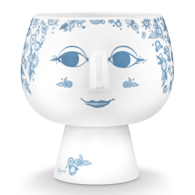 Bjorn Wiinblad Juliane Flowerpot - Dusty Blue