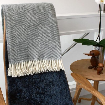 Viborg Scandinavian Wool Throw
