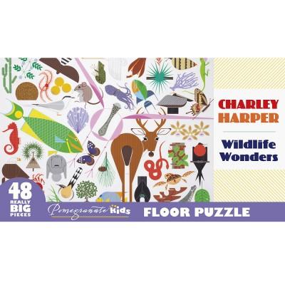 Charley Harper Wildlife Wonders Floor Puzzle
