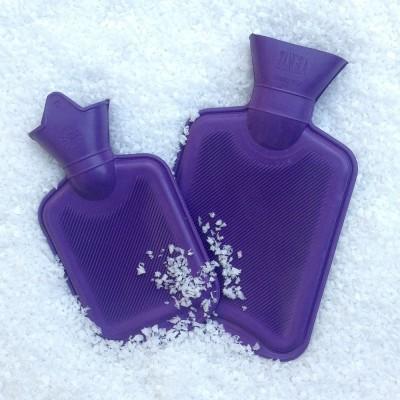 Mini Hot Water Bottles - Purple