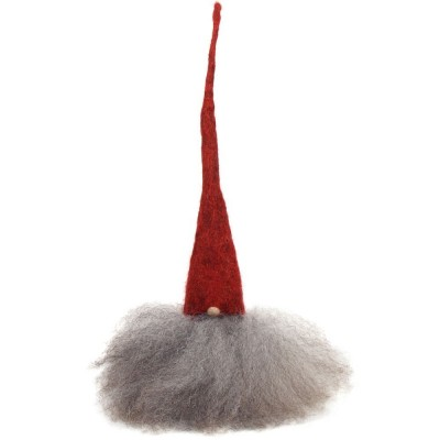 Swedish Tomte 25cm - Red Hat Grey Beard