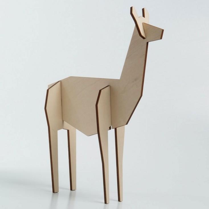 Atelier Pierre Standing Llama - Large