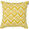 Spira Blomma Lime Yellow Cushion