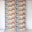 Remnant - Prastliden Orange Fabric - 1.8 m