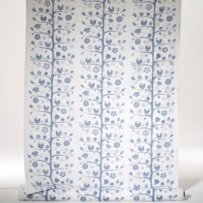 Remnant - Fågelsång Fabric - 1.2 m