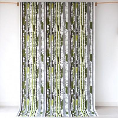 Remnant - Kungsbjörk Green Fabric - 60 cm