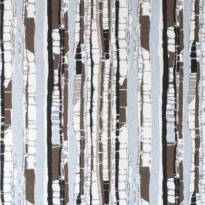 Remnant - Kungsbjörk Brown Fabric - 1.5 m