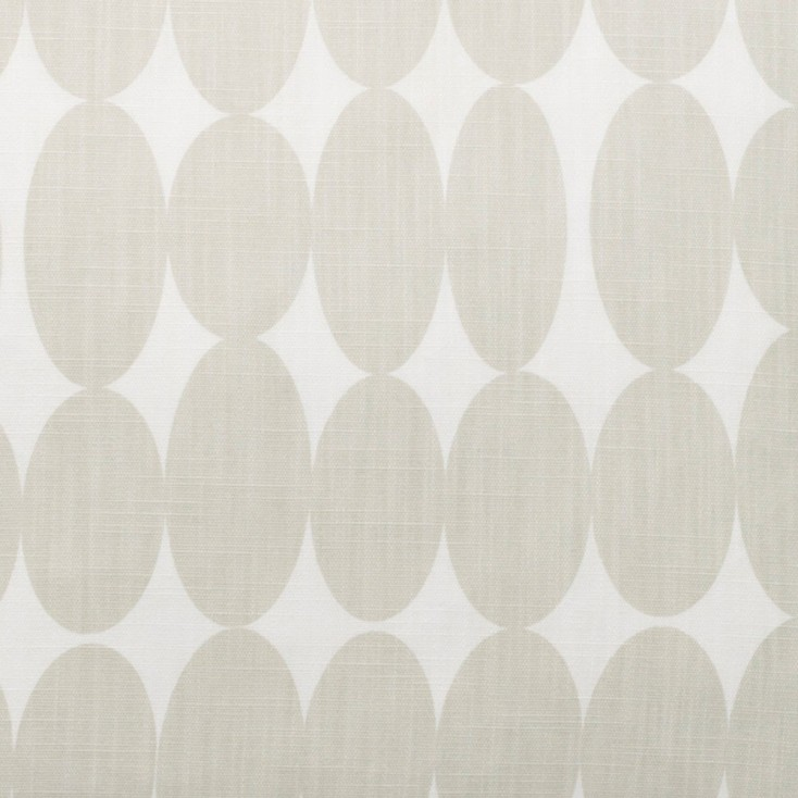 Fabric Remnant - Vilma Natural Fabric - 90 cm