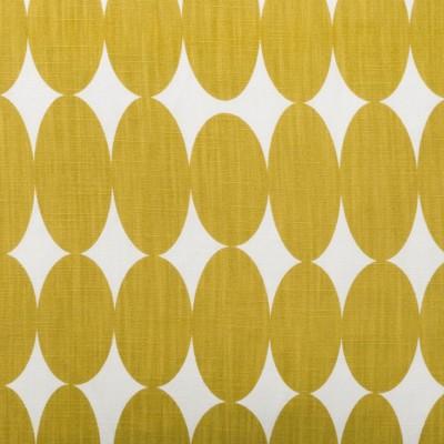 Remnant - Vilma Mustard Fabric - 35 cm