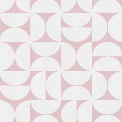 Remnant - Siv Pink Fabric - 1.7 m
