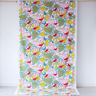 Remnant - Kvitter Pastel Fabric - 70 cm