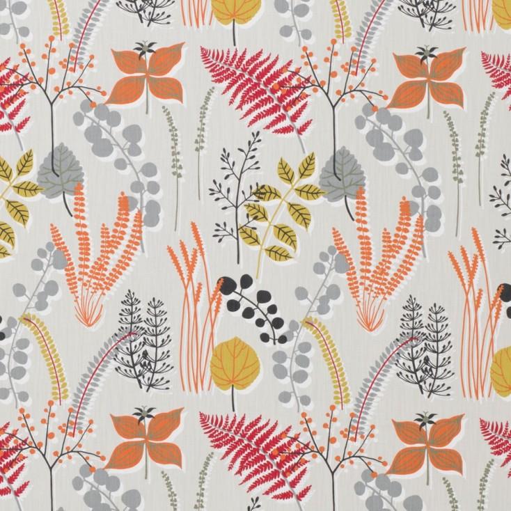 Remnant - Botanik Raspberry Fabric - 1.3 m