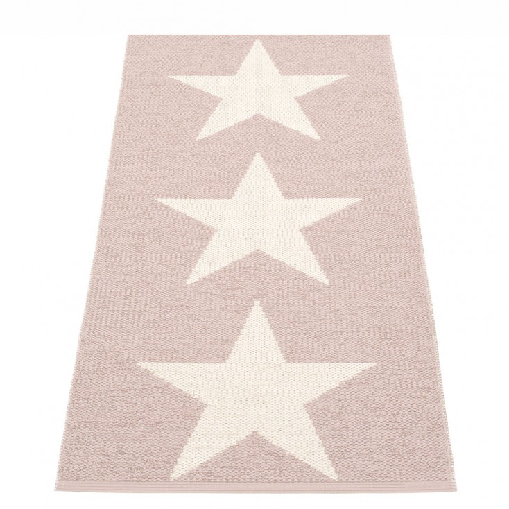 Pappelina Viggo One Pale Rose Runner - 70 x 150 cm