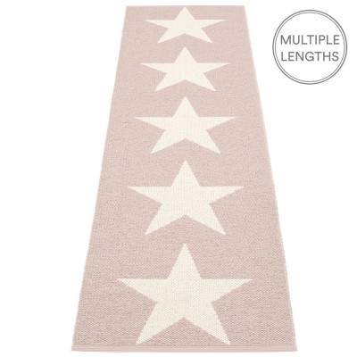 Pappelina Viggo One Pale Rose Runner - 70 x 250 cm