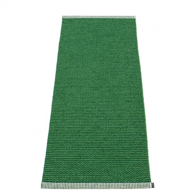 Pappelina Mono Grass Green : Dark Green Runner - 60 x 150 cm