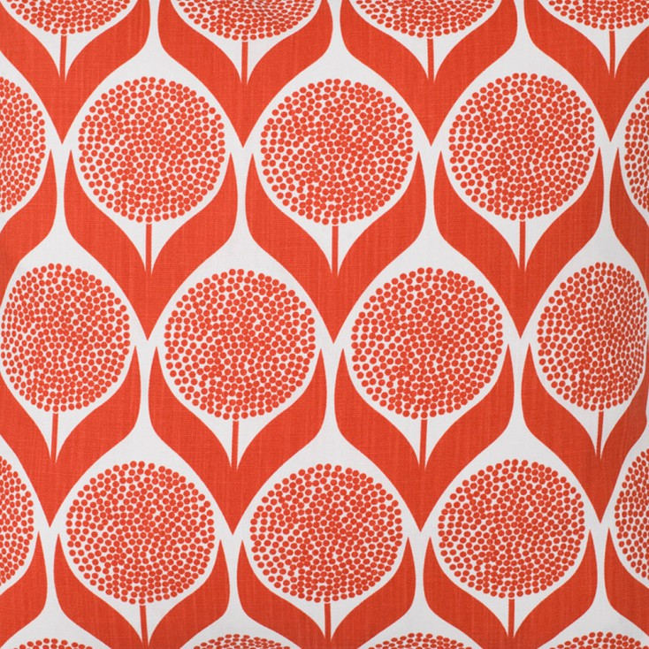 Spira Blomma Coral Swedish Fabric