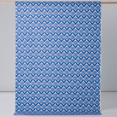 Spira Blomma Cobalt Swedish Fabric