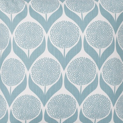 Spira Blomma Light Blue Swedish Fabric