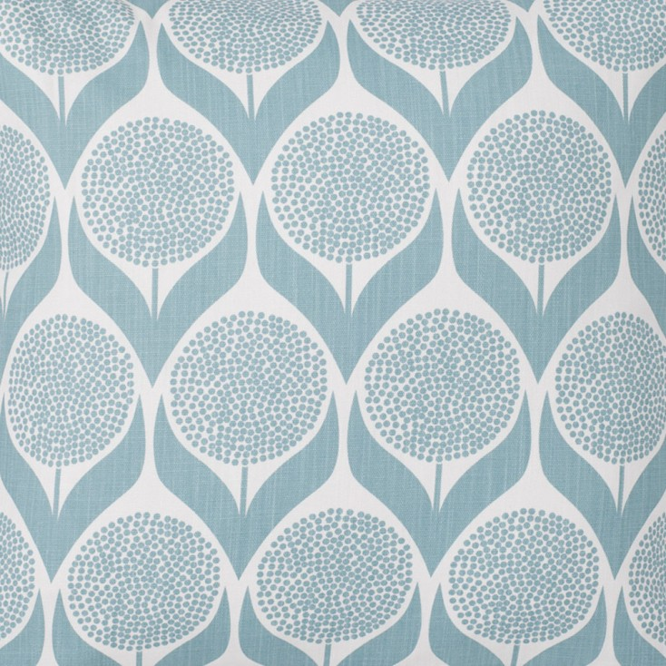 Spira Blomma Light Blue Swedish Fabric