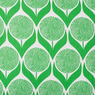 Spira Blomma Green Swedish Fabric