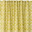 Spira Blomma Lime Yellow Swedish Fabric