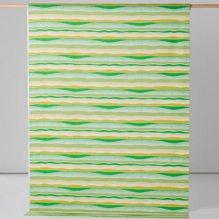 Spira Happy Green Swedish Fabric - Full 150 cm Width