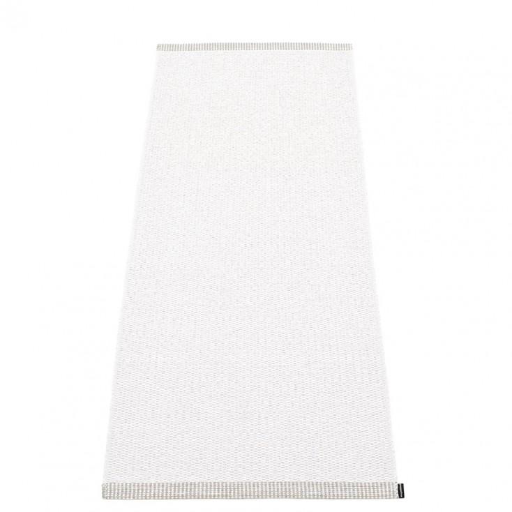Pappelina Mono White Runner - 60 x 150 cm
