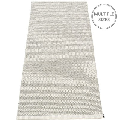 Pappelina Mono Fossil Grey : Warm Grey Runner - 85 x 260 cm