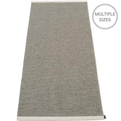 Pappelina Mono Warm Grey : Charcoal Runner - 85 x 260 cm