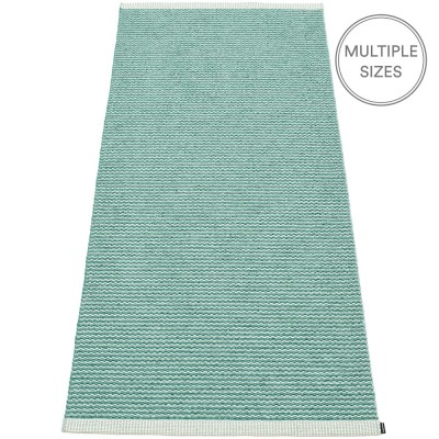 Pappelina Mono Jade : Pale Turquoise Runner - 85 x 260 cm