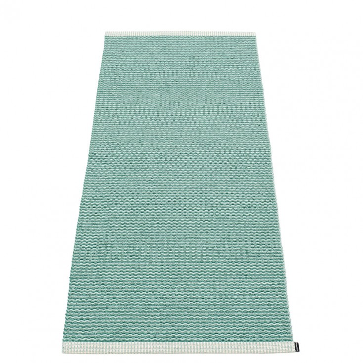 Pappelina Mono Jade : Pale Turquoise Runner - 60 x 150 cm