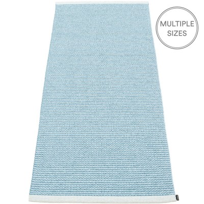 Pappelina Mono Misty Blue : Ice Blue Runner - 85 x 260 cm