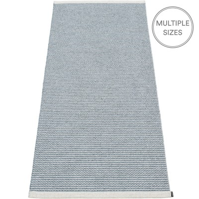 Pappelina Mono Storm : Light Grey Runner - 85 x 260 cm