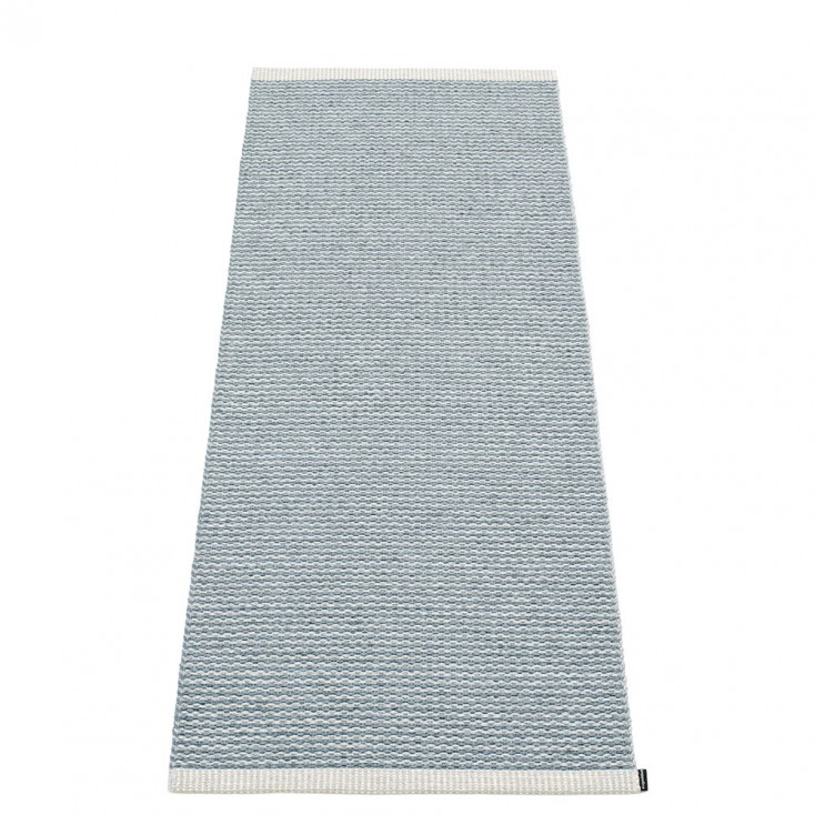 Pappelina Mono Storm : Light Grey Runner - 60 x 150 cm