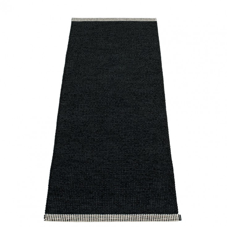 Pappelina Mono Black - 60 x 150 cm