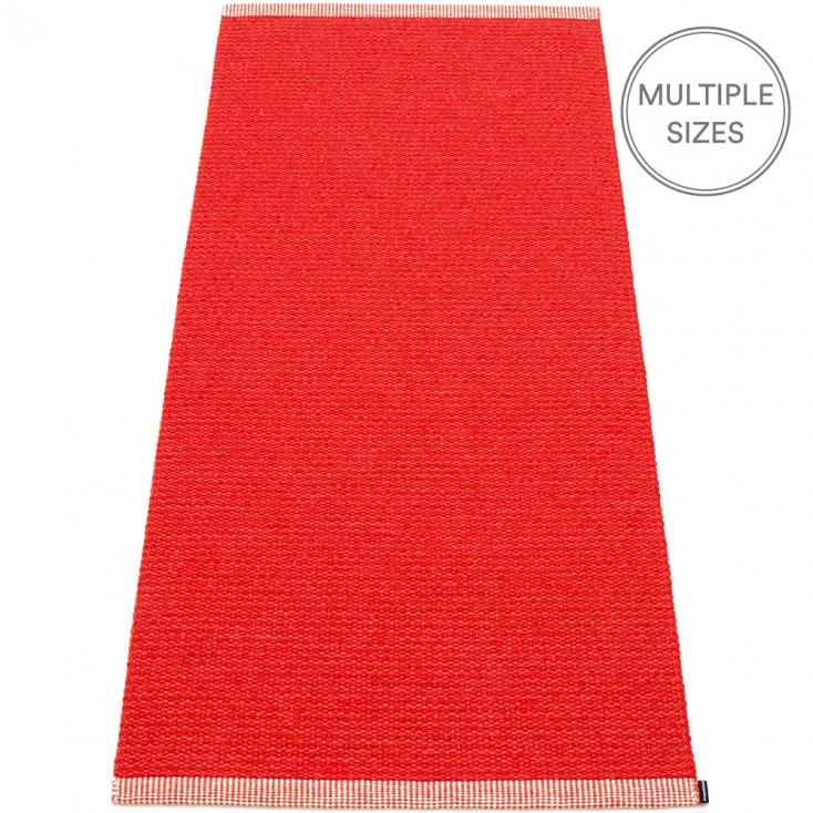 Pappelina Mono Red : Coral Runner - 85 x 260 cm