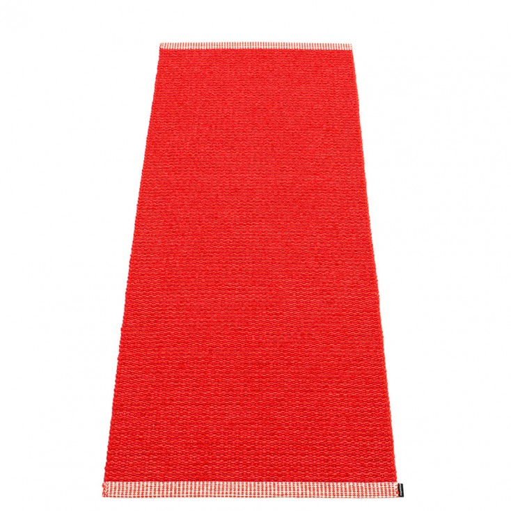 Pappelina Mono Red : Coral Runner - 60 x 150 cm