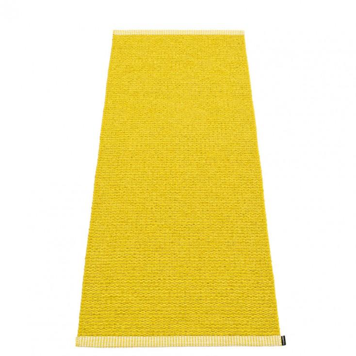 Pappelina Mono Mustard : Lemon Runner - 60 x 150 cm
