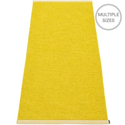 Pappelina Mono Mustard : Lemon Runner - 85 x 260 cm