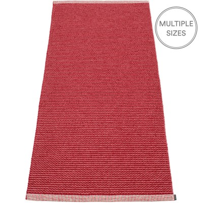 Pappelina Mono Blush : Dark Red Runner - 85 x 260 cm