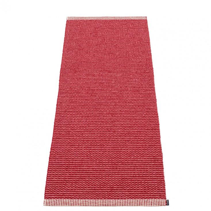 Pappelina Mono Blush : Dark Red Runner - 60 x 150 cm