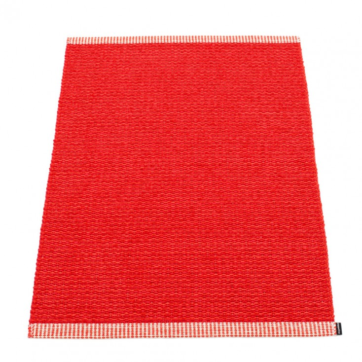 Pappelina Mono Red : Coral Mat- 60 x 85 cm