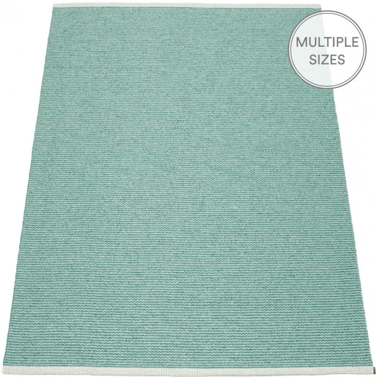 Pappelina Mono Jade : Pale Turquoise Large Rug